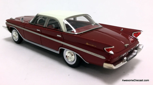 Kess 1:43 1960 DeSoto Adventurer, Metallic Red/White