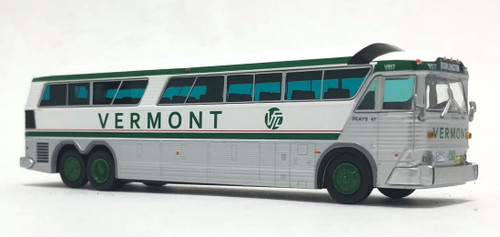 Iconic Replicas 1:87 MCI MC-7 Coach: Vermont Transit Lines