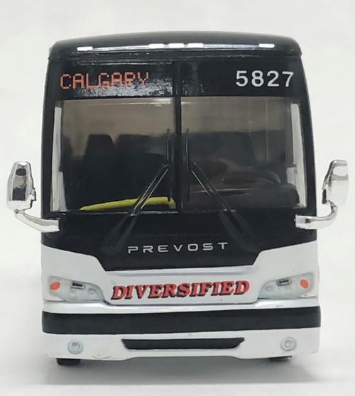 Last Few!! Iconic Replicas 1:87 Prevost X3-45 Coach: Diversified Transportation