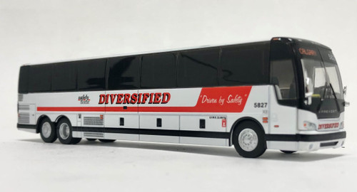 Last Few!! Iconic Replicas 1:87 Prevost X3-45 Coach: Diversified Transportation