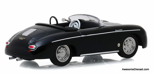 Greenlight 1:43 1958 Porsche 356 Speedster Super Convertible, Restored Version: Steve McQueen Collection
