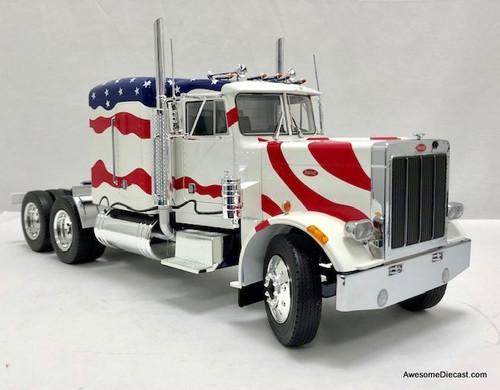Road Kings 1:18 1967 Peterbilt 359 Tractor Stars & Stripes