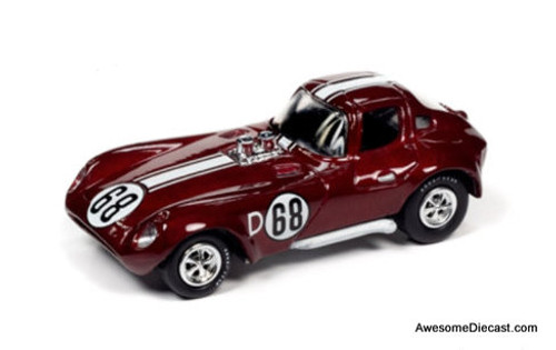 Johnny Lightning 1:64 1963 Chevrolet Cheetah, Metallic Red