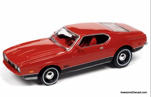 Johnny Lightning 1:64 1971 Ford Mustang Mach 1: James Bond Diamonds Are Forever