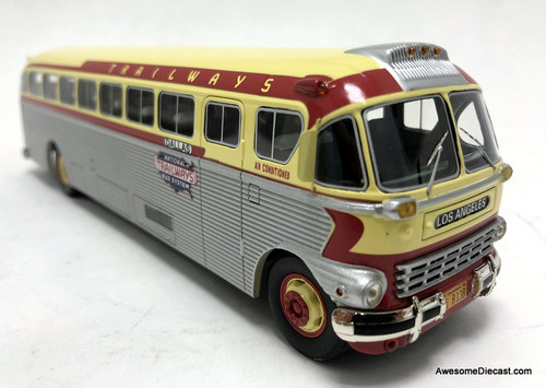 AHM 1:50 1948 ACF Brill IC-41 Coach, National Trailways Bus System: Destination Los Angeles