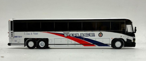 Iconic Replicas 1:87 MCI D4505 Coach: Toronto Police Service Command Post
