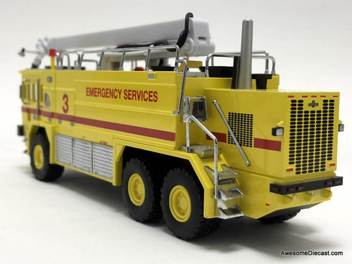 Code 3 1:64 Oshkosh T-3000 6x6 Emergency Crash Tender: Toronto Airport