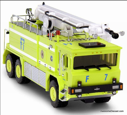 Code 3 1:64 Oshkosh T-3000 6x6 Emergency Crash Tender: Philadelphia Airport