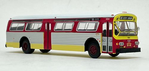 Iconic Replicas 1:87 Flxible 53102 Transit Bus: MUNI San Francisco