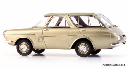 AutoCult 1:43 1959 Renault Project 900: Reversed Car