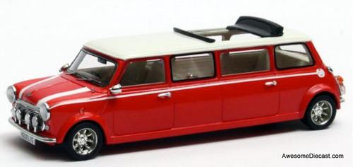 Matrix 1:43 1995 Mini Cooper Limousine, Red