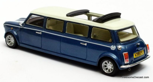 Matrix 1:43 1995 Mini Cooper Limousine, Blue