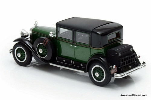 Esval Models 1:43 1928 Cadillac Series 341A Town Sedan: Al Capone's Armoured Car