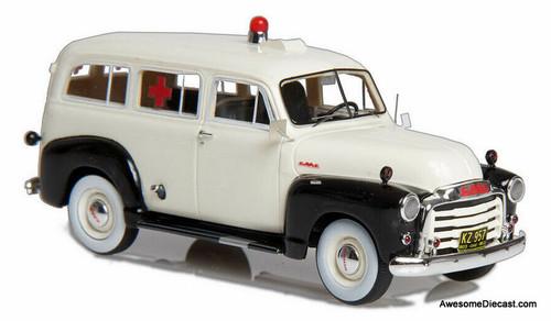Esval Models 1:43 1952 GMC Suburban Ambulance
