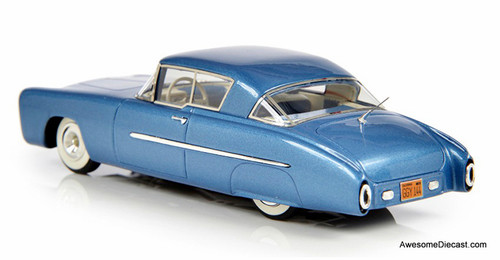 Esval Models 1:43 1950 Mercury Leo Lyons Coupe,Metallic Blue
