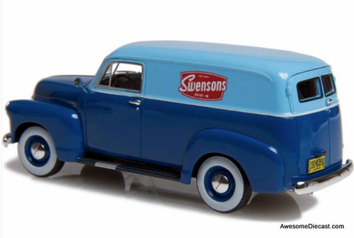 Esval Models 1:43 1951 Chevrolet 3100 Panel Delivery Van: Swensons Drive-In
