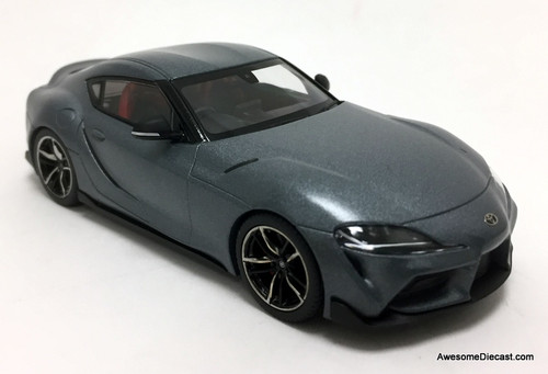 Kyosho 1:43 2020 Toyota GR Supra, Matt Storm Gray Metallic