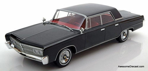 BoS 1:18 1965 Imperial Crown 4 Door Sedan, Black