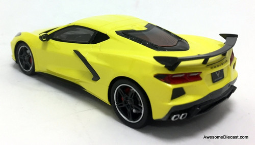 TSM 1:43 2020 Chevrolet Corvette C8, Accelerate Yellow Metallic