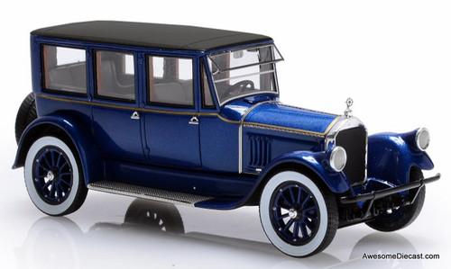 Esval Models 1:43 1921 Pierce Arrow Model 32 7 Seat Limousine, Blue