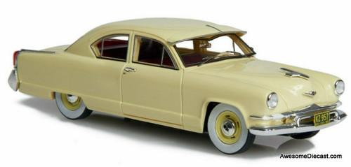 Esval Models 1:43 1953 Kaiser-Frazer Carolina 2 Door Sedan, Yellow