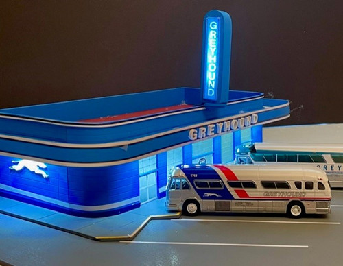 1:87 Greyhound Bus Station: Jackson, TN