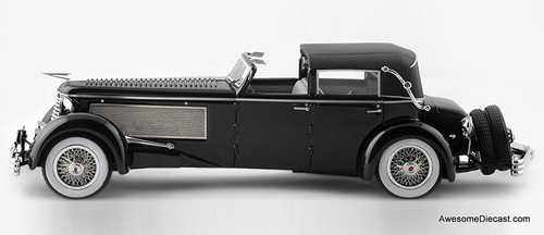 Esval Models 1:43 1937 Duesenberg SJ Town Car by Rollson for Mr Rudolf Bauer