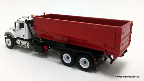 First Gear 1:87 Mack Granite Truck w/Roll-Off Container