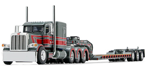 First Gear / DCP Peterbilt 389 w/ Fontaine Magnitude Tri-Axle Lowboy Trailer: Hammett Excavation