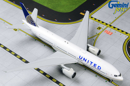 Gemini Jets 1:400 Boeing 777-200ER: United Airlines GJUAL1806