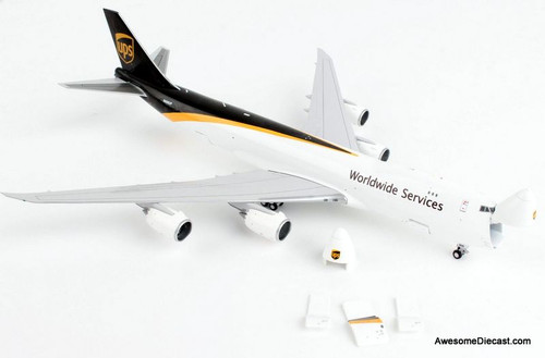 Gemini Jets 1:400 Boeing 747-8F: UPS Air Freight