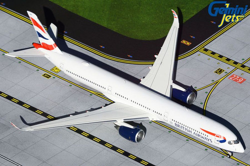Gemini Jets 1:400 Airbus A350-1000: British Airways GJBAW1933