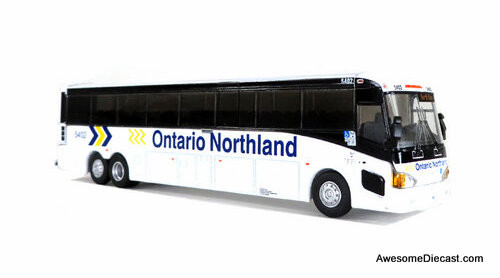 Last One!! Iconic Replicas 1:87 MCi D4505 Motor Coach: Ontario Northland
