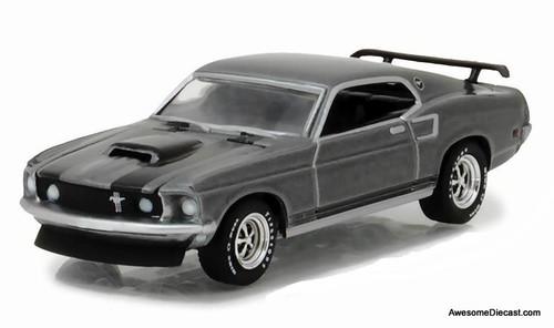 Greenlight 1:64 1969 Ford Mustang Boss 429: John Wick Hollywood Movie