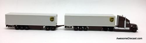SIKU 1:87 Mack Road Train: United Parcel Service