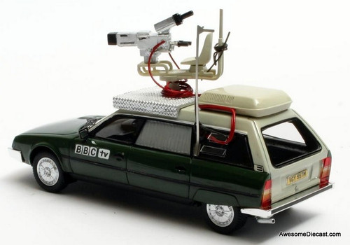 Matrix 1:43 1975 Citroen CX Safari Estate: BBC Television Camera Car