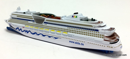SIKU 1:1400 Cruise Ship: AIDA Luna - All Diecast