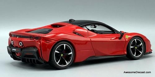 Burago 1:24 2020 Ferrari  SF90 Stradale, Red
