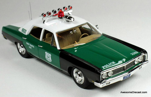 Goldvarg Collection 1:43 1970 Ford Galaxy: New York Police Department