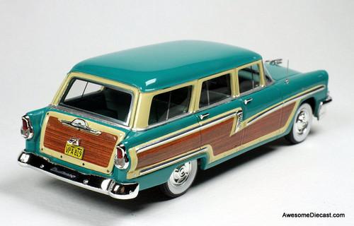 Goldvarg Collection 1:43 1956 Mercury Monterey Wagon, Heath Green