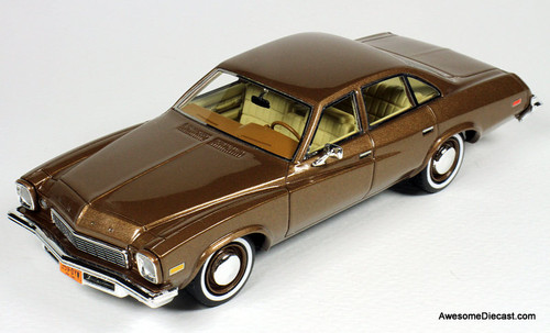 Goldvarg Collection 1:43 1974 Buick Century, Nutmeg Poly