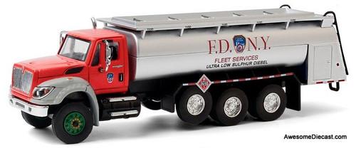 Greenlight 1:64 IH WorkStar Diesel Fuel Tanker: FDNY Fleet