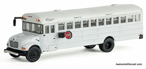 Scenic Master 1:87 IC Corp/ ICE MOW Crew Bus w/Railroad Maintenance-of-Way Logo Decals
