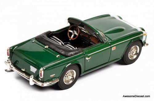 Schuco 1:43 Triumph TR250 Convertible, British Racing Green