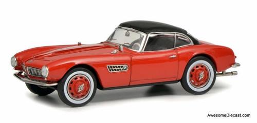 Schuco 1:43 BMW 507, Red w/Black Roof