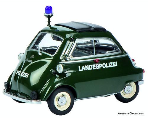 Schuco 1:43 BMW Isetta: Berlin Police Department, Germany