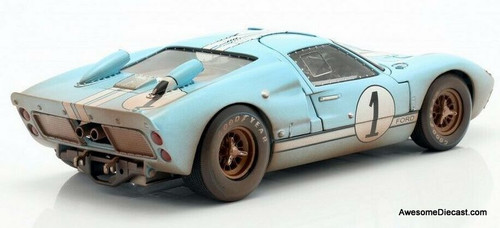 Shelby Collectibles 1:18 1966 Ford GT-40 MK11: Dirty Edition