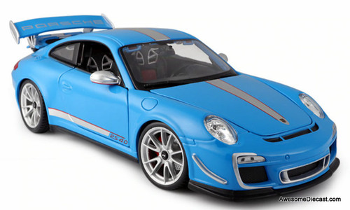 Burago 1:18 Porsche 911 GT3 RS 4.0, Blue