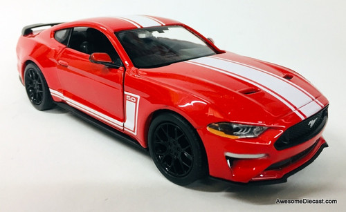 Motor Max 1:24 2018 Ford Mustang 5.0 GT, Red