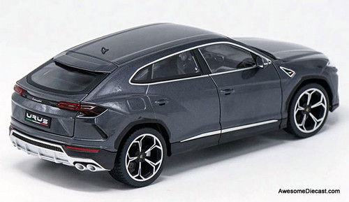 Burago 1:18 Lamborghini Urus, Metallic Gray